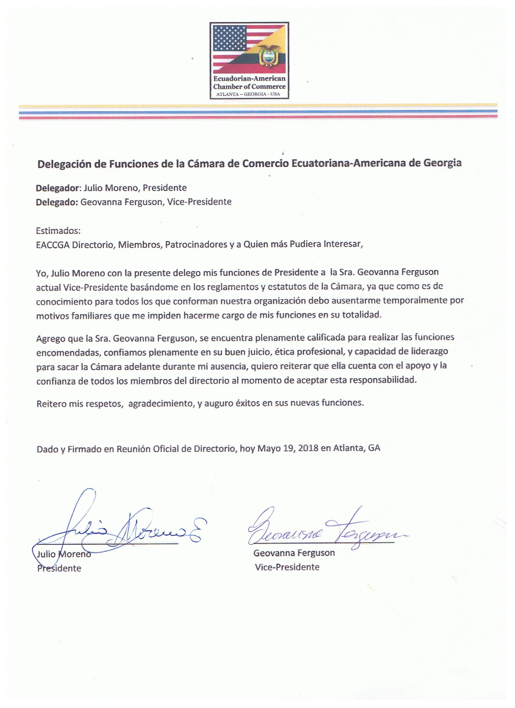 DelegacionDeFuncionesFirmada